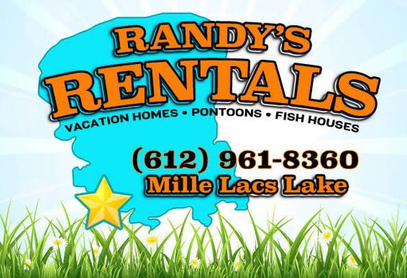 Randys Rentals on Mille Lacs Lake Main Logo
