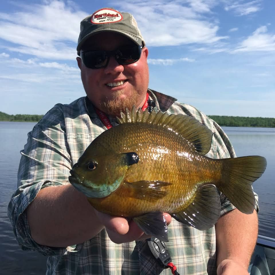 Brad Hawthorne Guide Service Mille Lace Isle Minnesota Sunfish