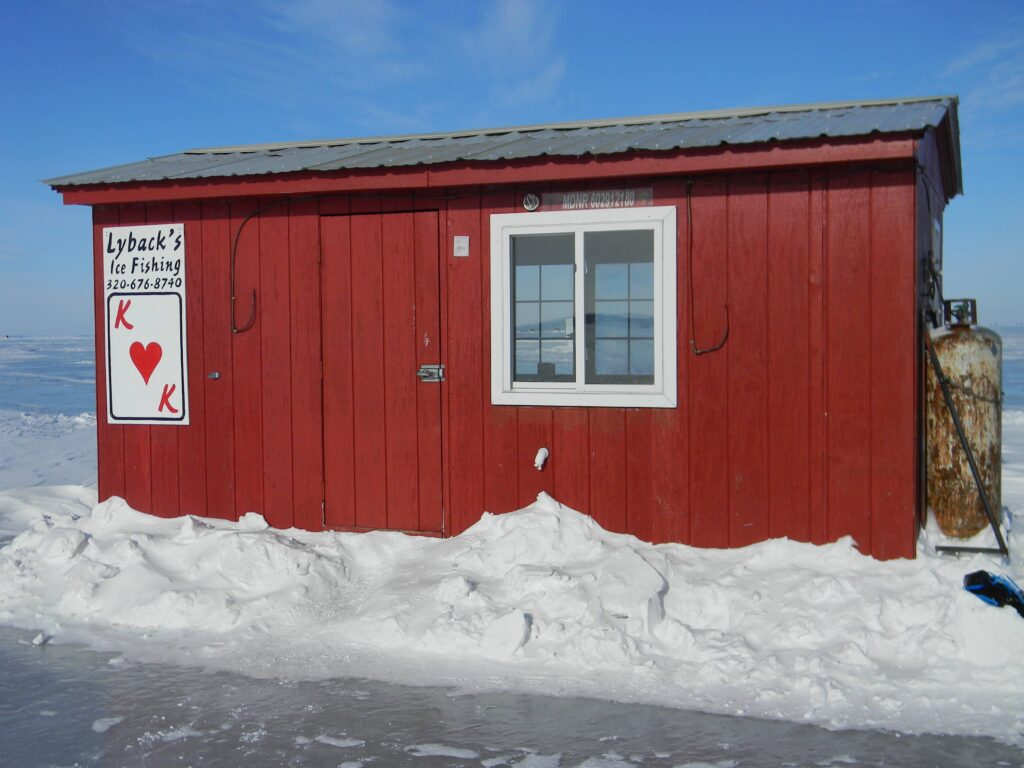 Lybacks Resort Ice Fishing Rental House Mille Lacs