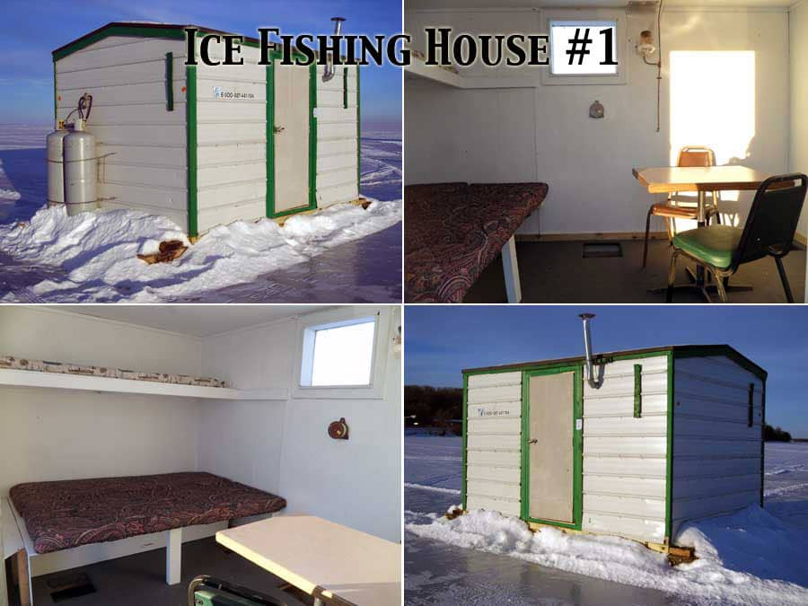 Twin Pines Resort Mille Lacs Ice House Rental 1