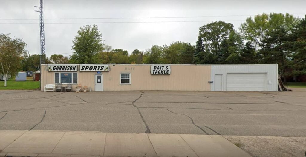 Garrison Sports Bait Tackle Exterior Building From Road