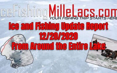 Mille Lacs Lake Ice Update – Fishing Report