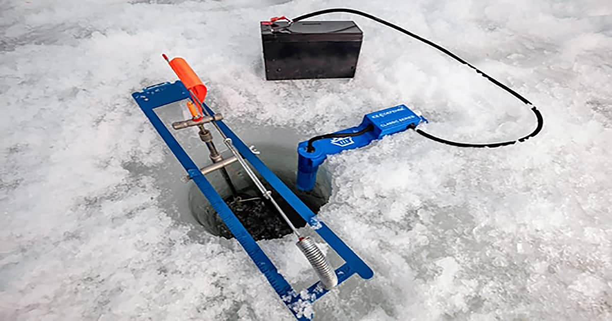 Ice Defence Classic Series Ice Hole Cleaner Thermal Flow 1200x630
