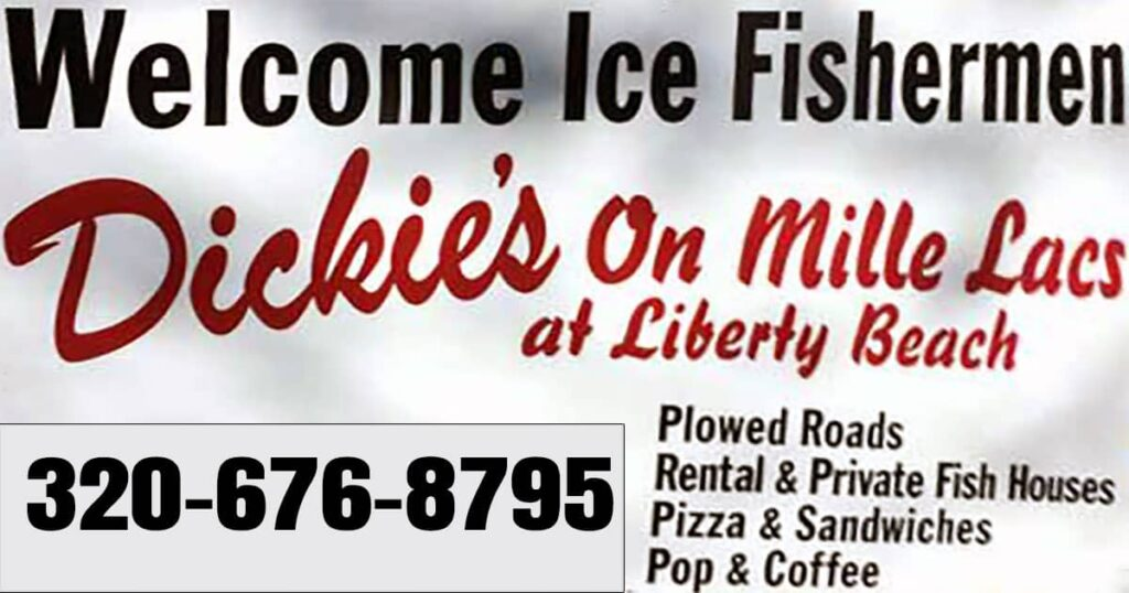 Dickies on Mille Lacs Banner Liberty Beach