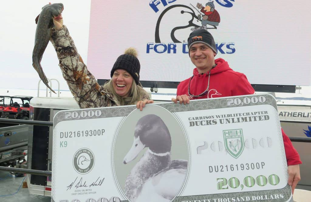 Fishing For Ducks Mille Lacs Ice Fishing Tournament 2020 Grand Prize Winner