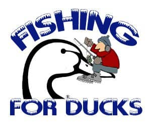Fishing For Ducks Mille Lacs Ice Fishing Tournament Logo
