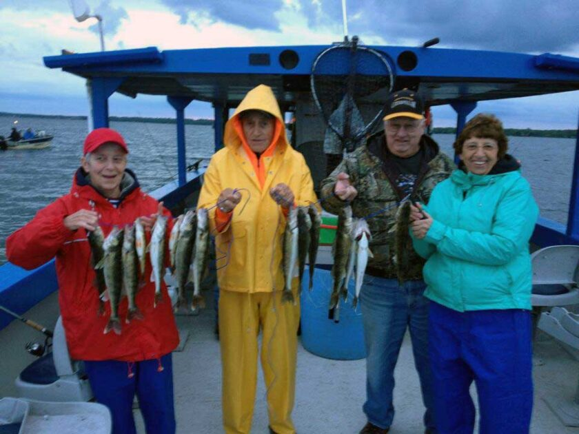 Phils Myr Mar Resort Aitkin MN Mille Lacs Lake Launch Walleye Limits